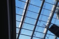 Silber 20 Außenbeschichtung Glasdach Verwaltung Dresden